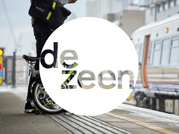 folding bike dezeen logo